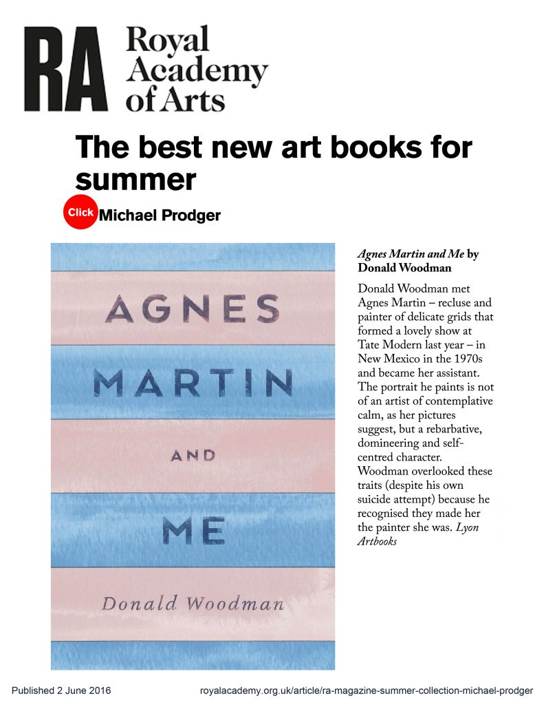 Royal Academy of Arts - The Best New Art Books for Summer